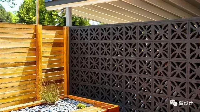 各式各样的庭院景观墙,美_39