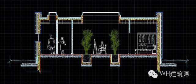 如何用八步做完一个建筑细部的图面表达?