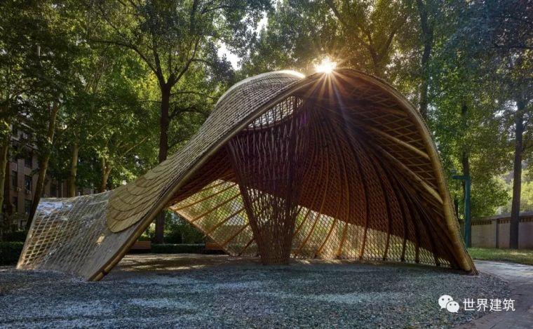 WA|新作首发|SUP素朴建筑工作室|云在亭,北京林业大学