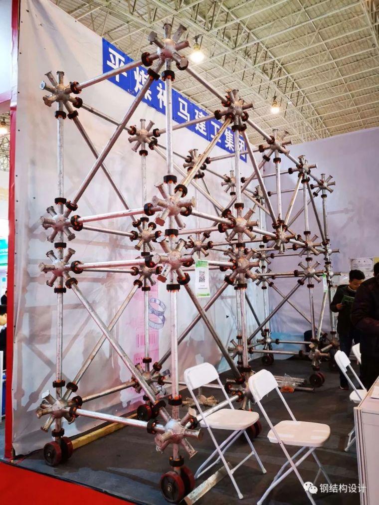 旋转盘扣装配式桁架简介,一种创新的装配式焊接球网架