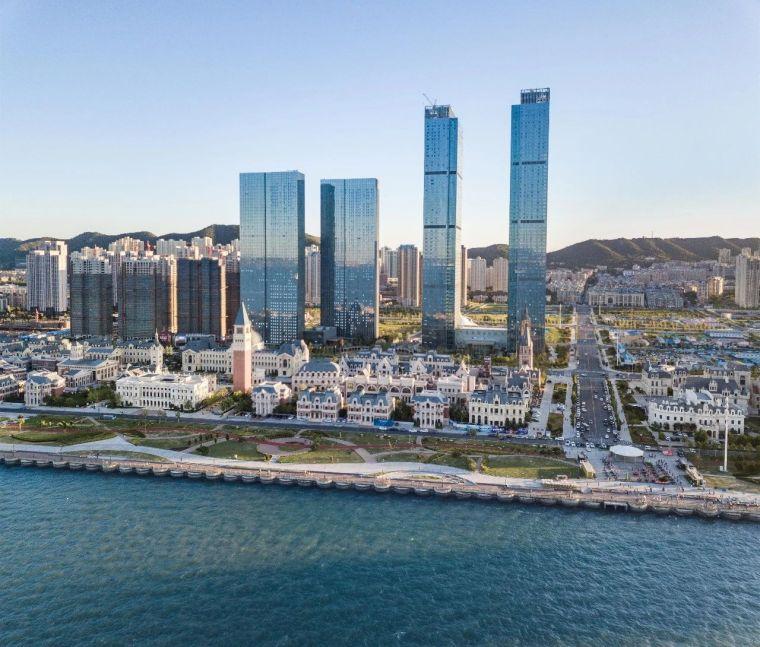 中国钢结构金奖——大连东港D10、D13地块超高层结构设计分享