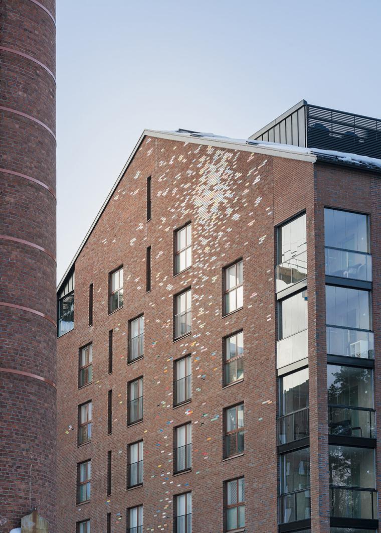 芬兰Albertinpiha公寓楼-7