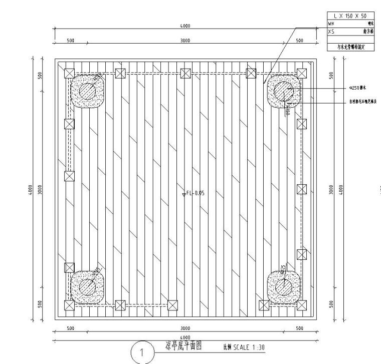木结构亭子详图设计——泛亚景观