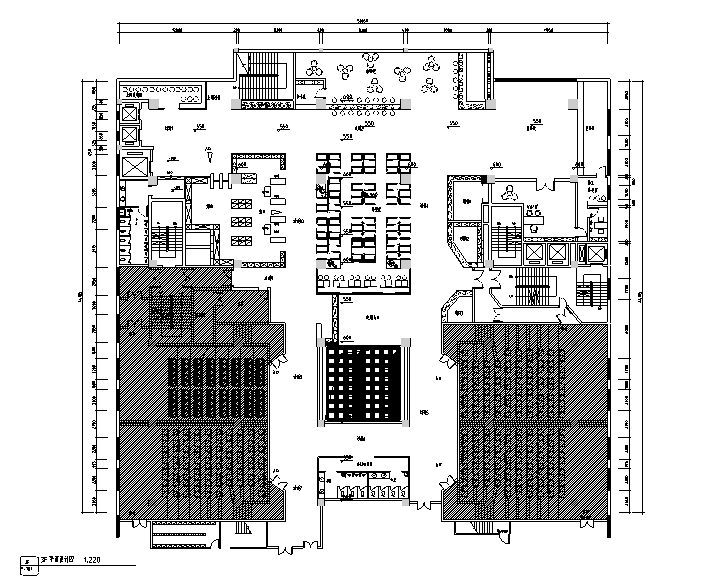 现代美亚巨幕电影院设计施工图(附效果图)
