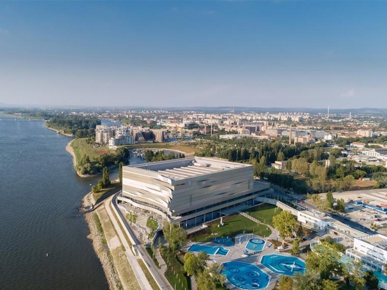 布达佩斯DunaArena游泳馆