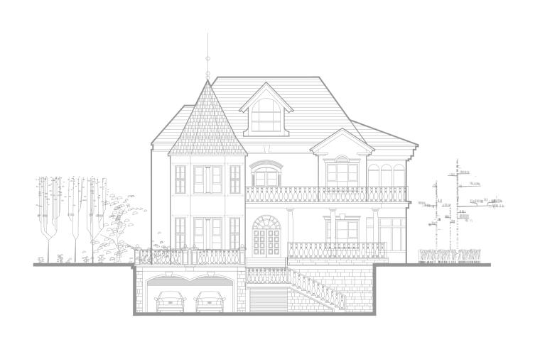 四套经典的别墅施工图