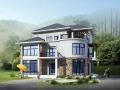 新中式农村自建房3层独栋别墅建筑设计施工图(含全套CAD图纸)
