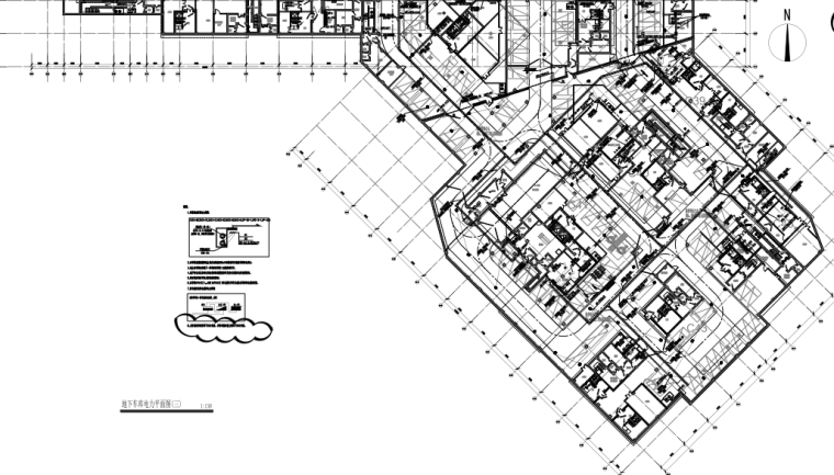 上海科研办公楼电气专业施工图