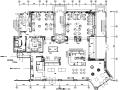 丽菲美式红酒专卖综合吧设计施工图(附效果图)