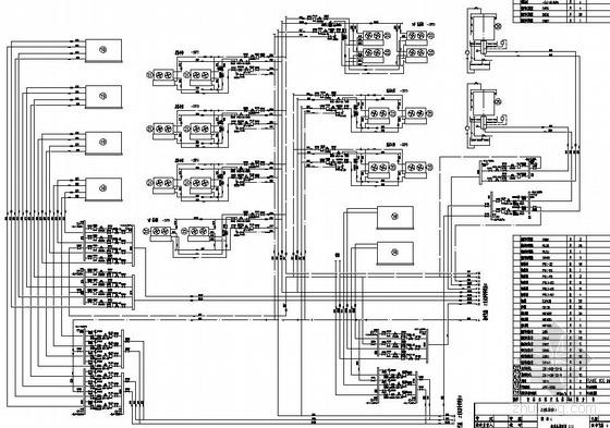 某冷库氨压缩机房图