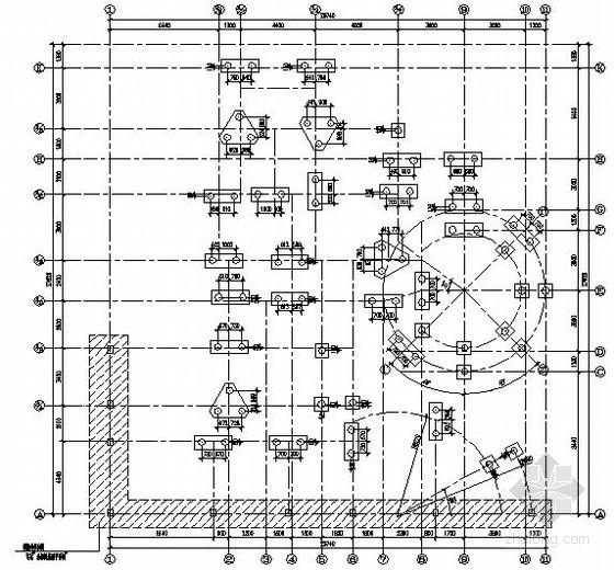 [上海]框架别墅结构施工图