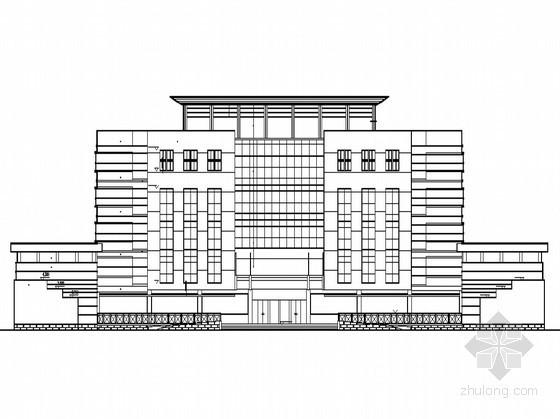某行政性质五层办公综合楼建筑施工图