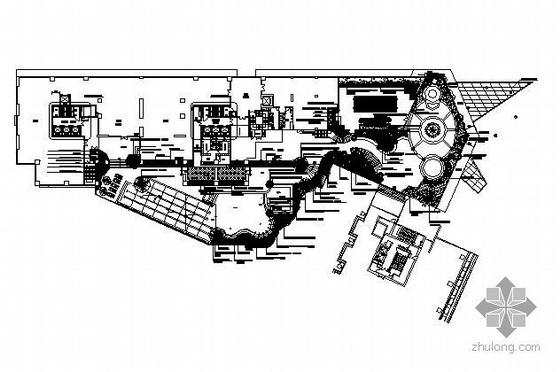 知名地产某小区景观施工图全套(东南亚风情)