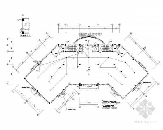 [贵州]大型职教安置房强电系统施工图纸166张