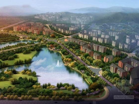 [四川]现代旅游小镇道路景观规划设计方案