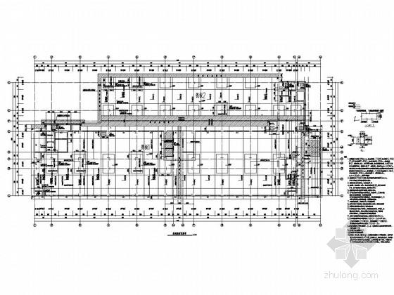 [衡水]11层框架剪力墙结构综合楼结构施工图