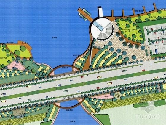 [江苏]工业园区道路景观绿化设计方案