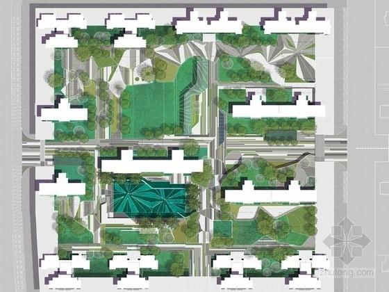 [广西]轻奢型住宅社区景观概念设计方案