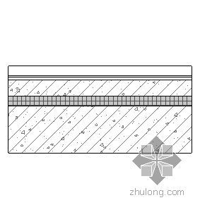 钢挂瓦条平瓦屋面(有保温隔热)