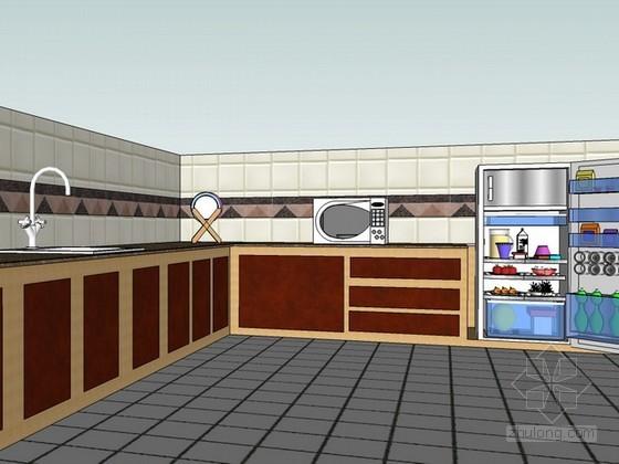 家装sketchup模型