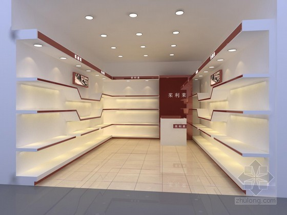 时尚女鞋专卖店3D模型下载