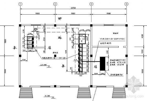 高速公路服务区电气设计图纸