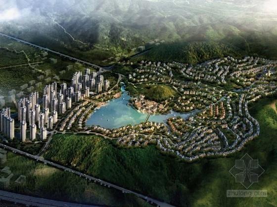 [广东]欧式风格住宅区规划及单体设计方案文本(美国知名建筑设计事务所)