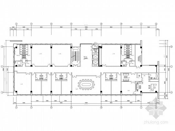 某单位业务用房智能化设计全套电气施工图纸