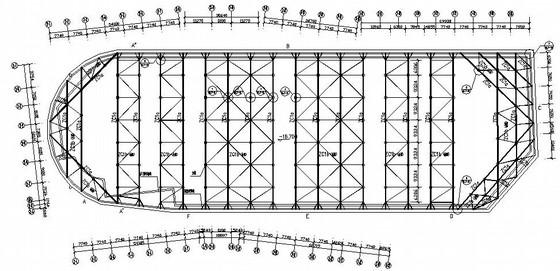 某医院深基坑围护结构及支撑体系设计图(管井降水)
