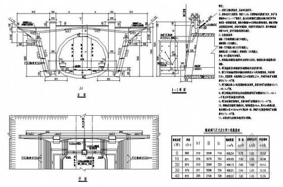 双线有砟轨道隧道双侧挡墙柱式洞门节点详图设计