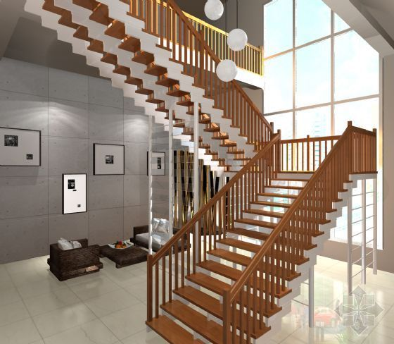 vr建筑渲染教程资料下载-维多利亚楼梯