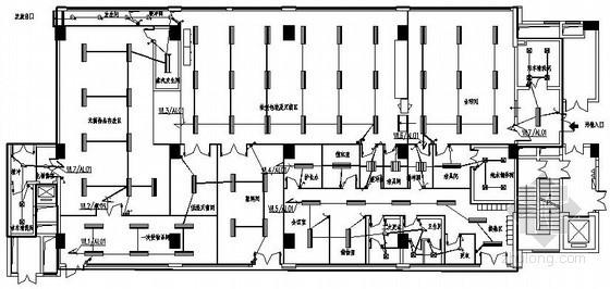 医院洁净区供应室电气施工图纸