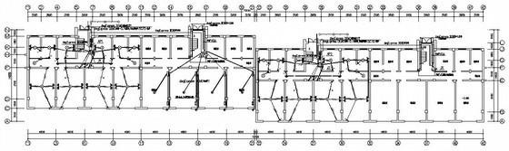三层复式住宅楼电气图纸