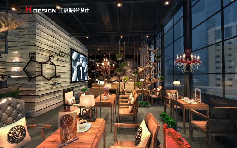 归本主义设计作品—上海漫猫咖啡馆设计案例_5