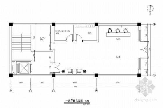 [辽宁]欧式豪华休闲洗浴中心室内施工图(含效果图)
