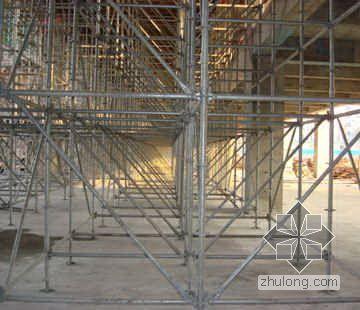 江苏某通信大楼工程速接型钢管施工架技术应用总结