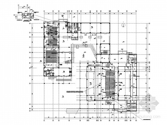[江苏]高级实验中学全套电气施工图(弱电全面 安装大样最新)