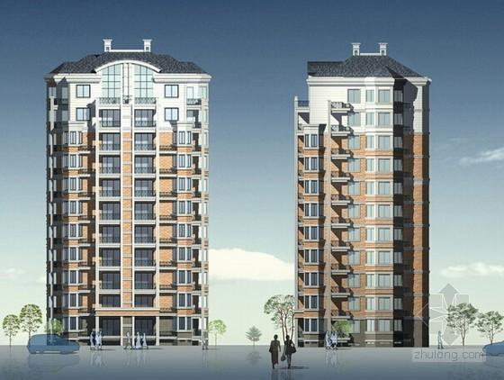 [浙江]2015年1月公寓居住区项目室外附属工程预算书(含全套施工图纸)