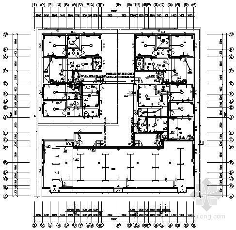 [怀化]某八层底商住宅电气施工图纸