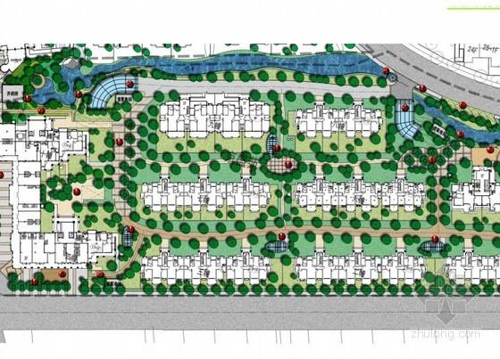 [常熟]小区景观总平面设计方案