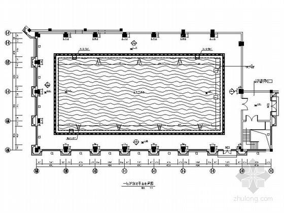 豪华酒店室内游泳池施工图