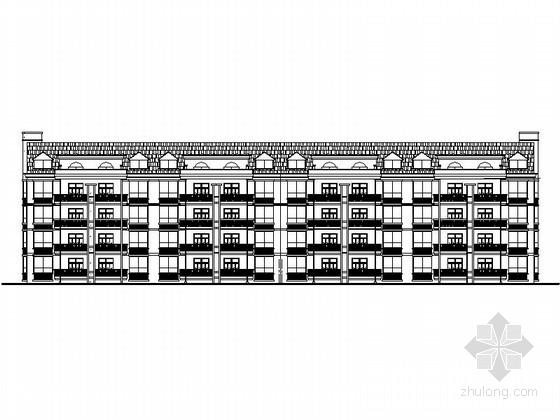 某多层住宅建筑设计施工图