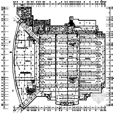 [四川]某综合体育馆完整电气施工图纸
