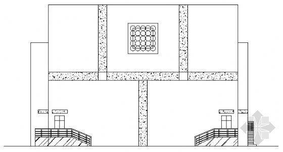 某小区二层小型剧场建筑施工图