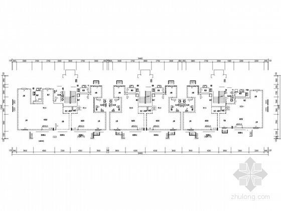 [山东]多层住宅楼采暖通风系统设计施工图