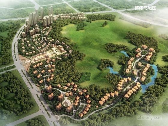 [内蒙古]国际社区中心花园景观方案规划