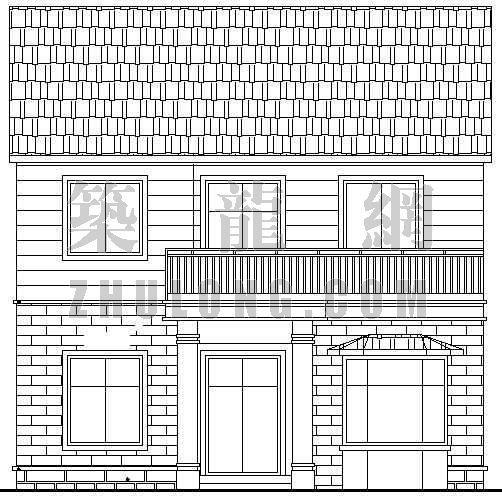 某乡村别墅全套建筑施工图