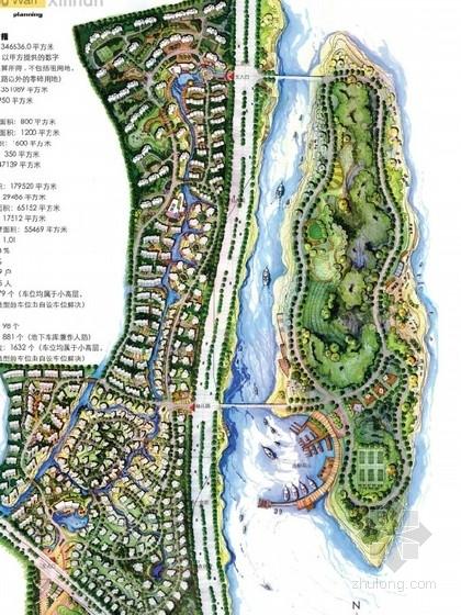 [福州]滨水居住区景观设计方案