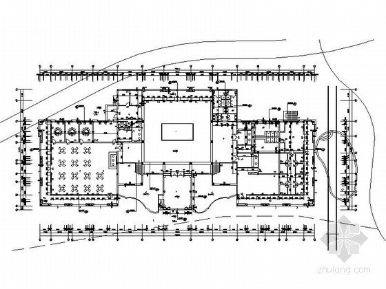 [广州]某别墅区三层会所建筑方案图