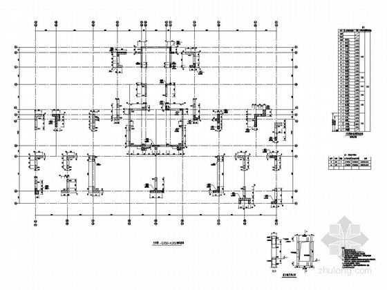 [四川]27层剪力墙结构办公楼结构施工图
